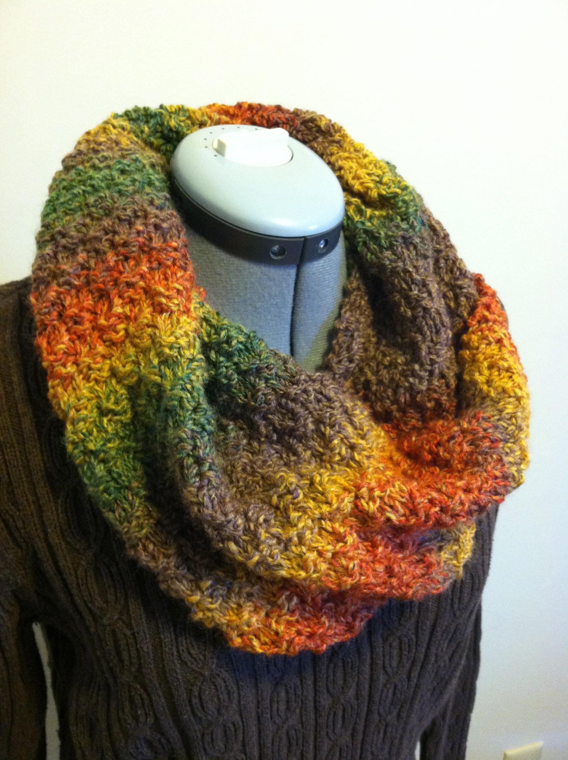 Easy Peasy Knit Cowl - Grace Elizabeth's