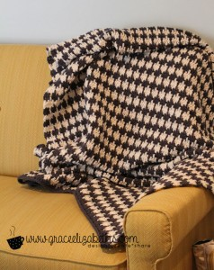 Houndstooth Blanket by Grace Elizabeths