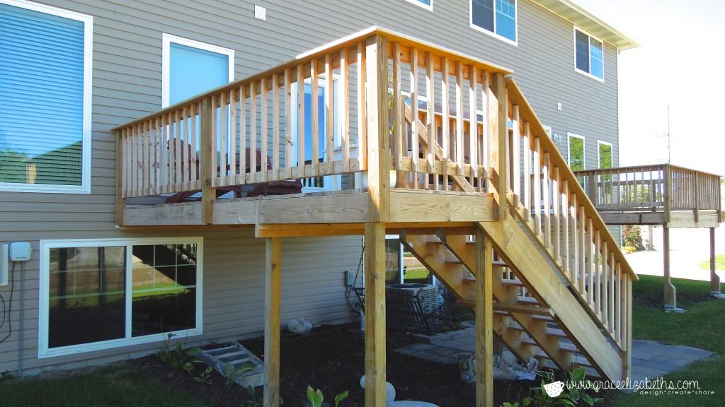 DIY Deck Stain
