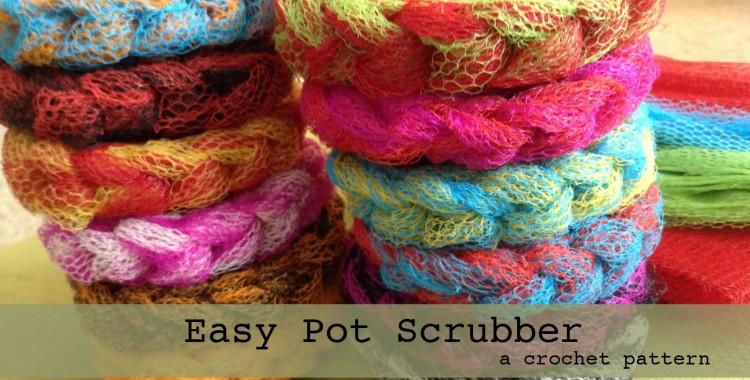 FREE Pattern: Easy Pot Scrubber