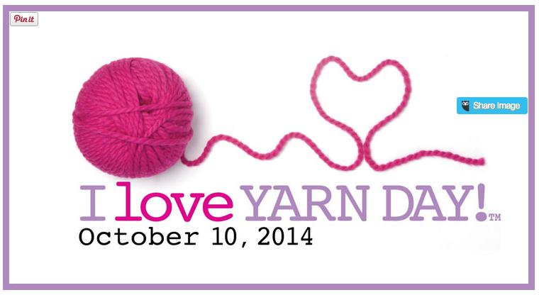 I Love Yarn Day! @GEinc #GraceElizabeths