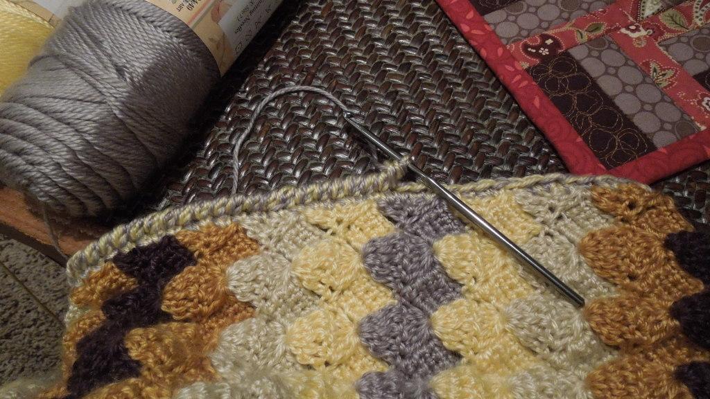 Rapids Stitch Afghan Pattern