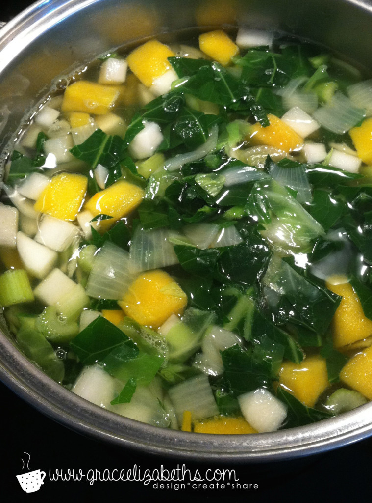 Healthy Homemade Vegetable Broth