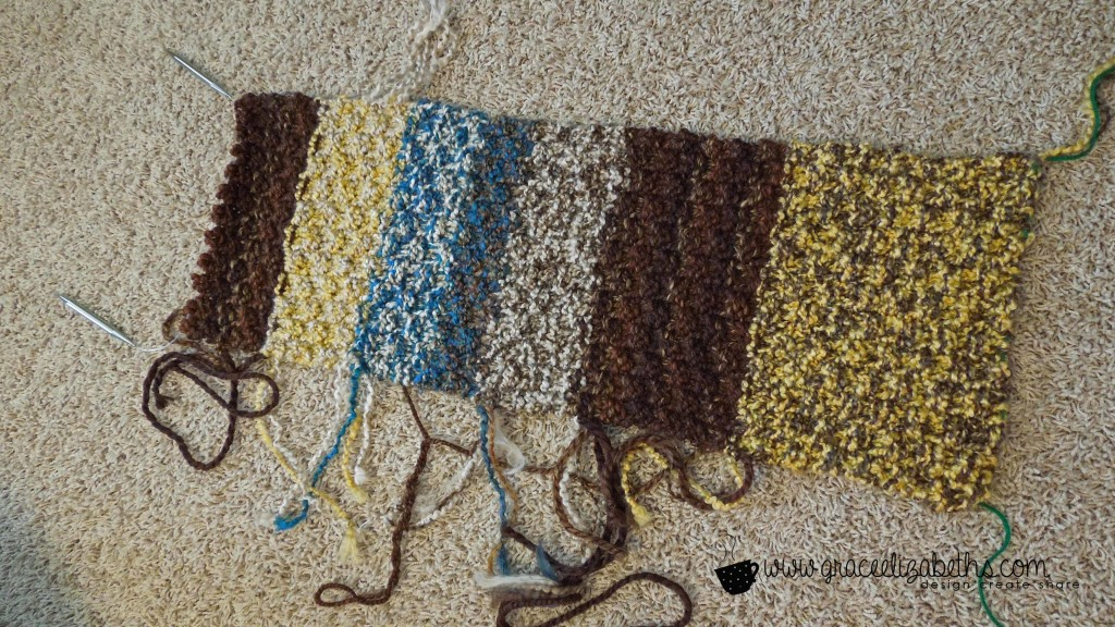 Yarn Stash Buster: Cowl Loose Ends - Free Pattern
