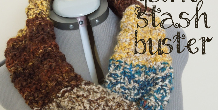 Yarn Stash Buster: Knitted Cowl