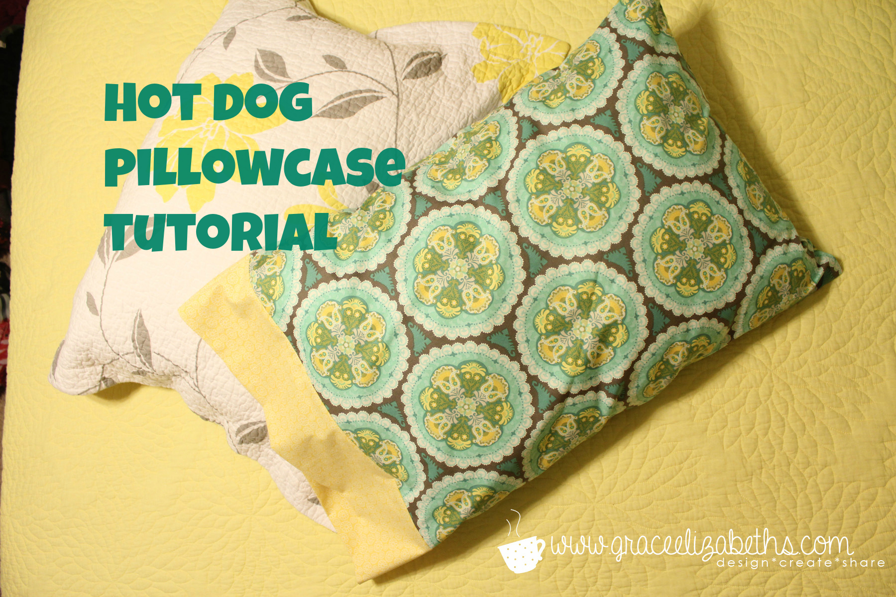 How To Make A Hot Dog Pillowcase