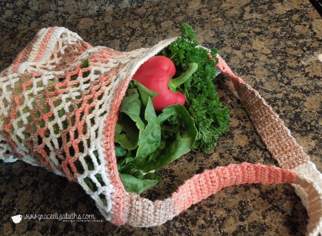 Market Bag Crochet Pattern by Grace Elizabeths