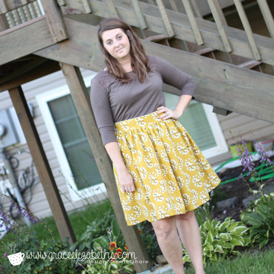 Clemence Skirt - Love At First Stitch