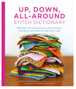 Up, Down, All-Around knitting stitch dictionary
