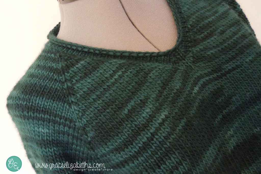 V-Neck view of Easy No-Nonsense Sweater