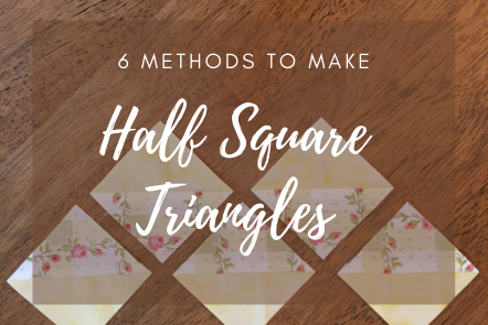 Quilting Half Square Triangles
