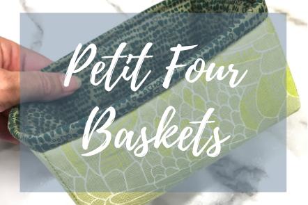 Petit Four Baskets - Grace Elizabeths Inc